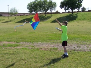 Photo of boy & kite