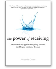 Amanda Owen, The Power of Receiving, Book Cover