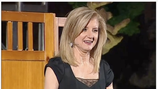 Arianna Huffington at TED
