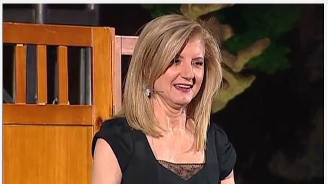 Arianna Huffington at TED