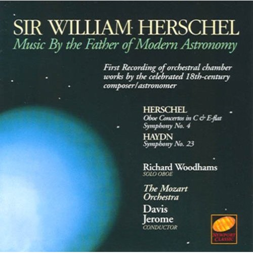 Sir William Herschel CD cover