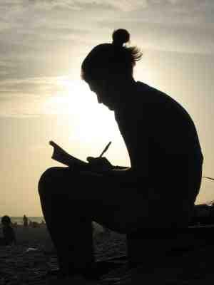 Writer silhouette, copyright Chris LeCraw iStockPhoto.com #000000818351
