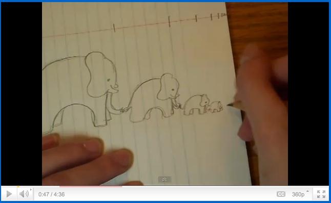 Infinity Elephants by Vi Hart screenshot