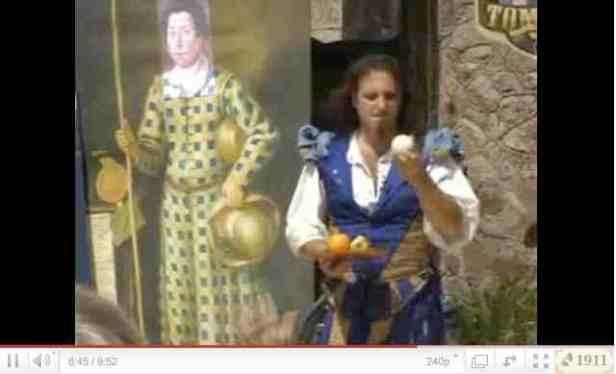 YouTube: Paul Garbonzo 2007 Muncaster Castle Fool
