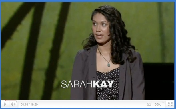 Sarah Kay at TED