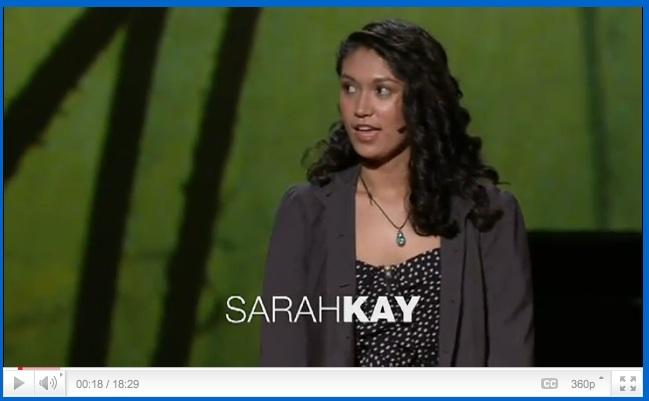Sarah Kay at TED