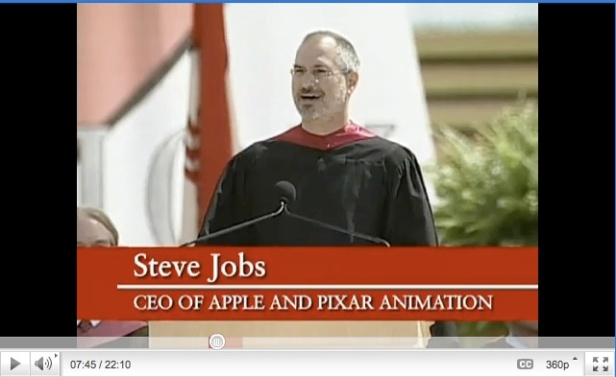 YouTube Steve Jobs Stanford Commencement 2005