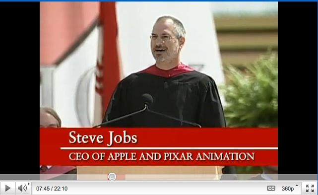 YouTube Steve Jobs Stanford Commencement 2005