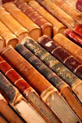 Antique_books_copyright_Jesse Karjalainen_iStockPhoto_5233400