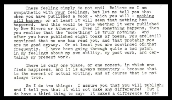 Don Hall to Wesley McNair: typewritten text as quoted above
