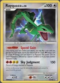 Pokemon Rayquaza Sky Judgment