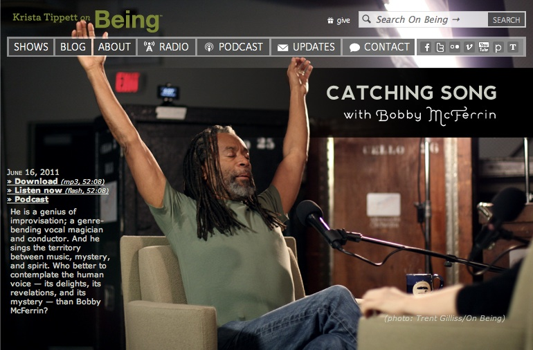 Bobby McFerrin Catching Song