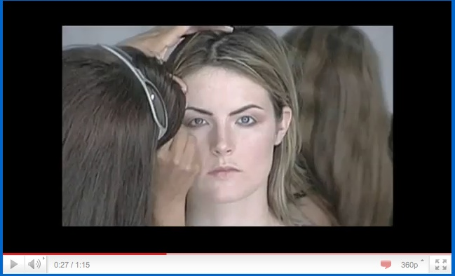 Dove Evolution of Beauty commercial