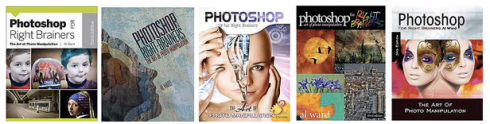 Wiley Book Cover Contest Finalists for Photoshop