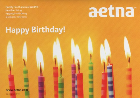 Aetna birthday card 50 front 09 2012