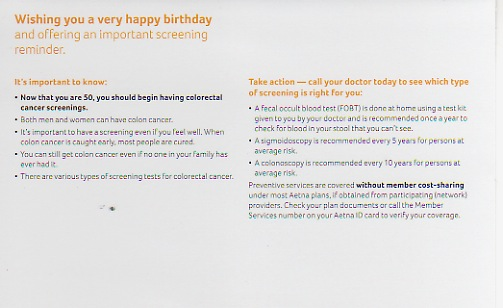 Aetna birthday card 50 interior 09 2012