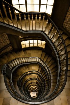 Spiral staircase copyright_TobiasHelbig_iStock_000007040319