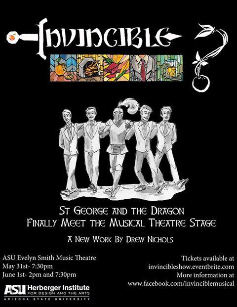Invincible poster ASU premier 2013
