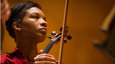 Tanesha Mitchell - NPR Ravenna Koenig reporting on BSO Academy Week